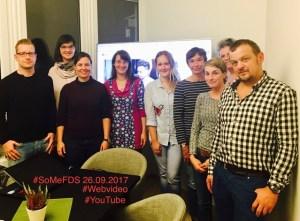 #SoMeFDS Social Media Stammtisch Freudenstadt September 2017 Thema YouTube