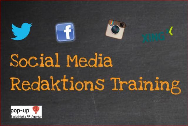 Vortragsbild prezi Social Media Redaktionstraining, Angela Wosylus, pop-up SocialMedia PR-Agentur Dornstetten