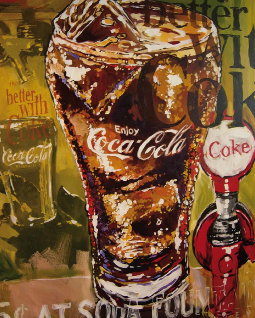 Steve Penley's Coke Art – Bold, Impassioned & Vivid | Coca