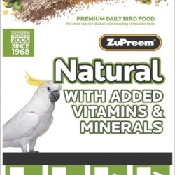 ZuPreem Natural Large Parrots 20lb
