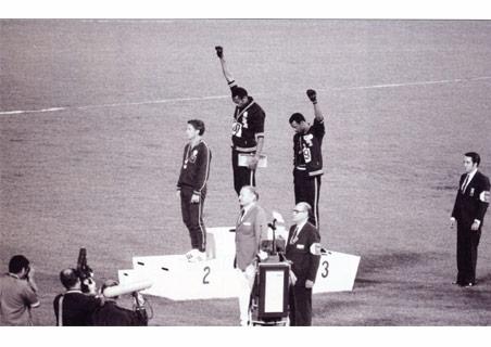 Olympiaden 1968, De sorte pantere markerer sig...