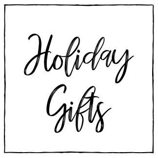 Holiday Gift Box Stacks