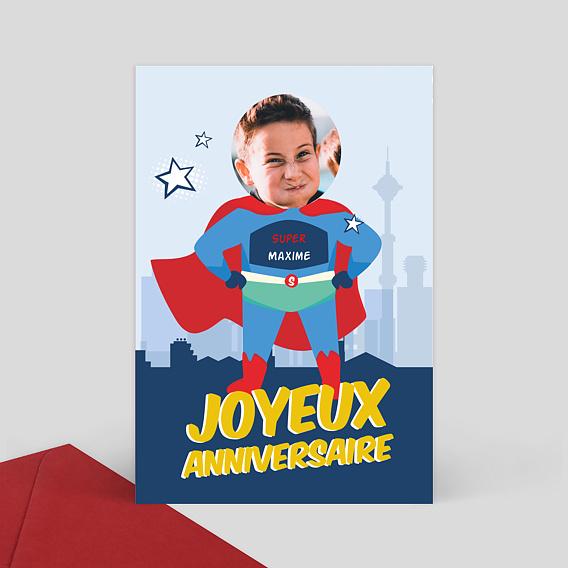 carte anniversaire enfant a