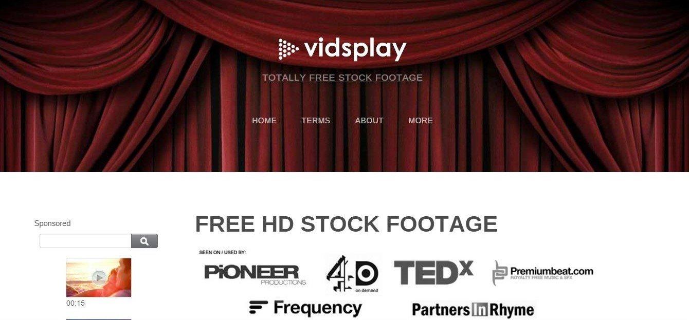 vidsplay banque de vidéos gratuites libres de droits