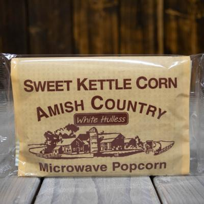 amish country microwave kettle corn popcorn