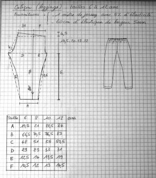 Leggings enfant  Pop Couture
