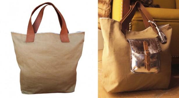 Customiser un sac cabas  Pop Couture