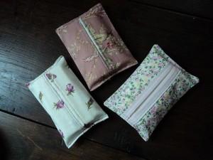 Etui  mouchoirs en papier  Pop Couture