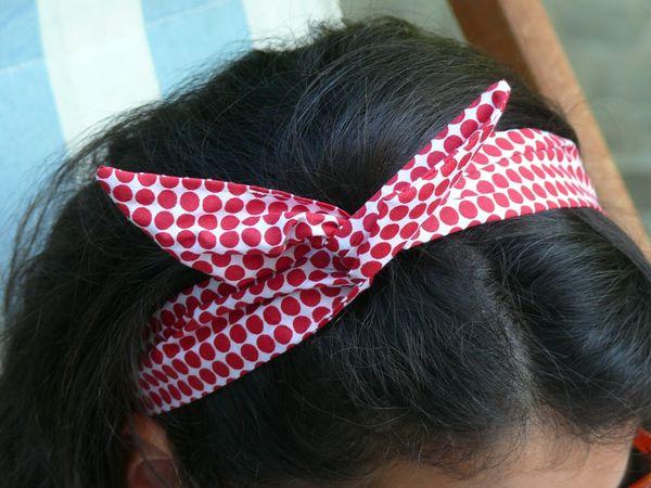 Headband des vacances  Pop Couture
