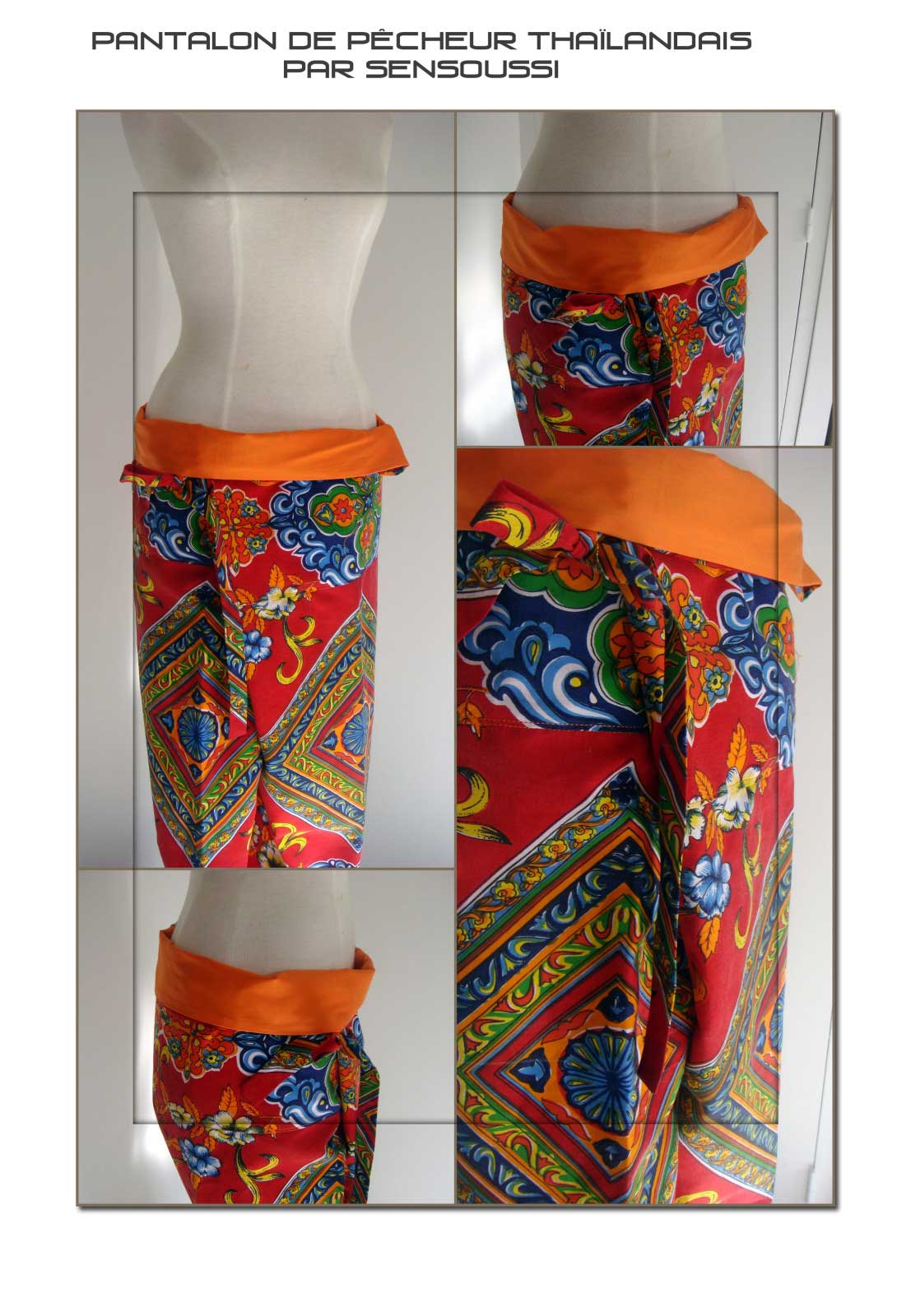 Patron de pantalon thai  Pop Couture