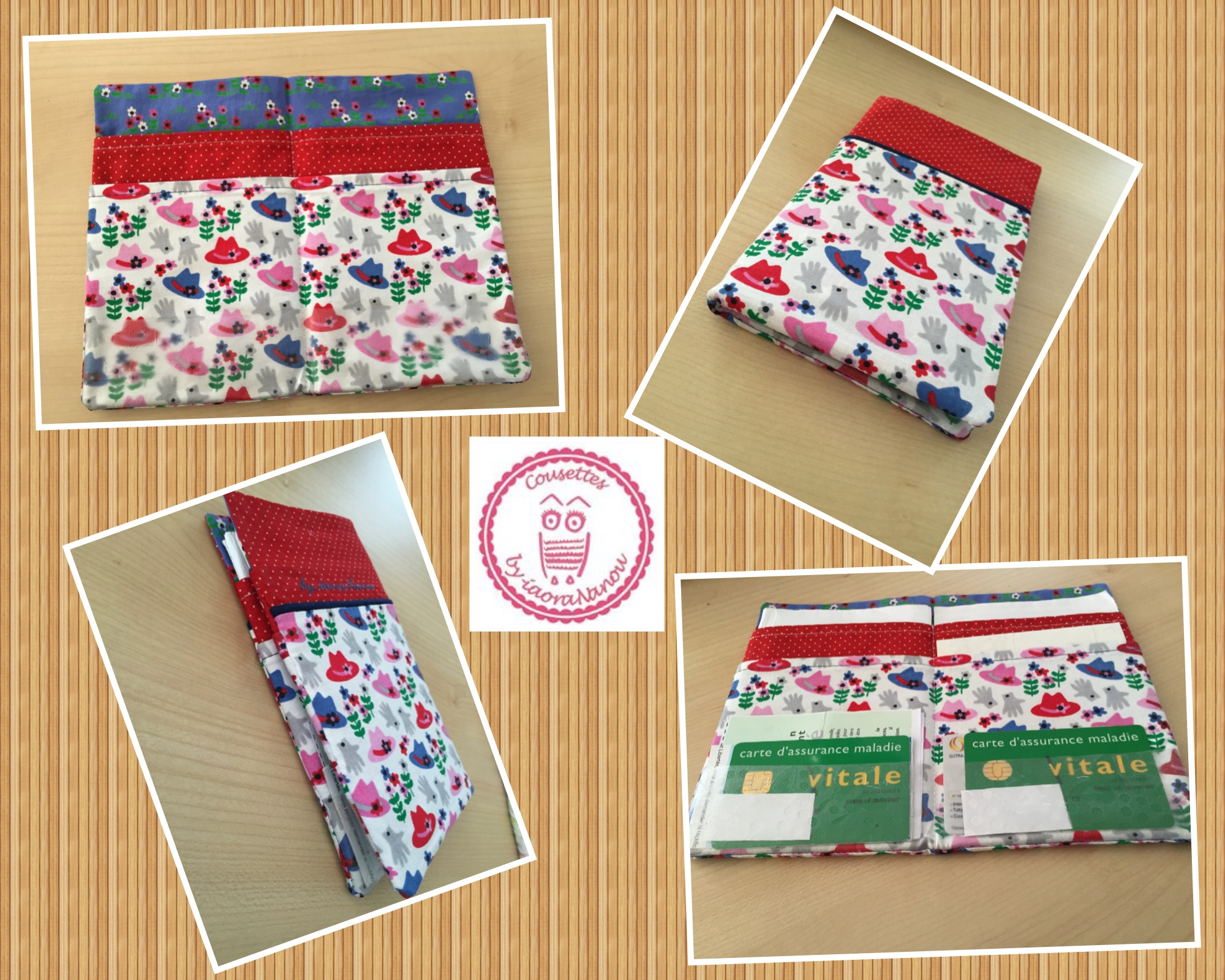 Etui Papiers Pharmacie Pop Couture