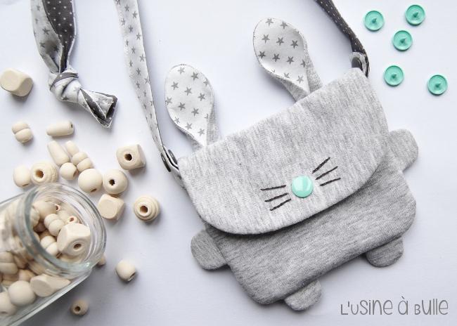 Mini sac lapin  Pop Couture