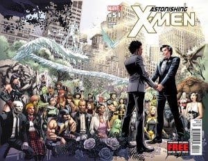 Northstar's wedding - Astonishing X-Men 51