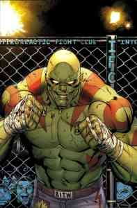 Drax #1 cover by Ed McGuinness, co-wrote by CM Punk