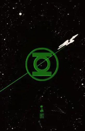 Star Trek/Green Lantern: The Spectrum War (cover by Francesco Francavilla)