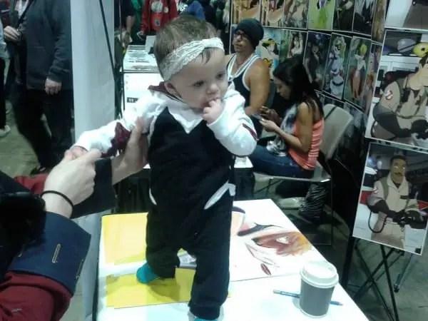 Baby Spider Gwen cosplay