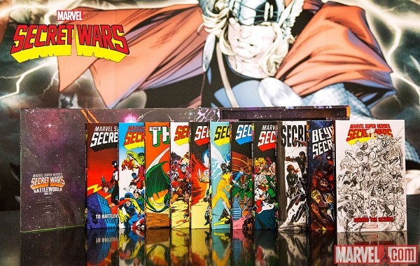 secret Wars box set2