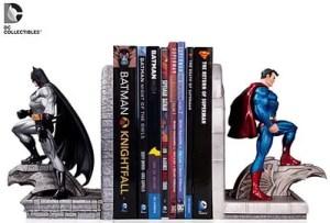 batman superman bookend
