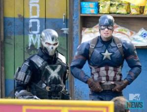 Crossbones and Captain America