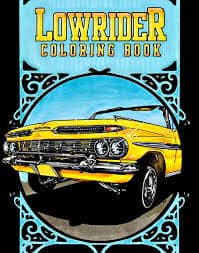 lowrider coloring book by oscar nilsson - Thrill Murray Coloring Book