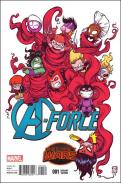 A-Force #1 - Skottie Young Variant