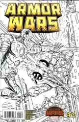 Armor Wars #0.5 Toys 'R Us Sketch Variant Exclusive