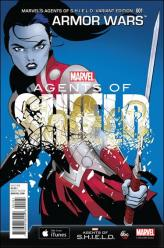 Armor Wars #1 - Marcos Martin 1 in 15 Marvel's Agents of SHIELD Variant