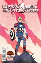 Captain America & the Mighty Avengers #9 - Jake Wyatt Capgwen America Variant