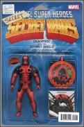 Deadpool's Secret Secret Wars 1 - John Tyler Chrisptoher Action Figure Variant