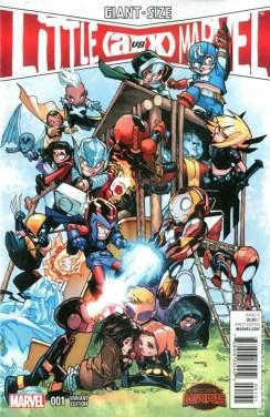 Giant-Size Little Marvel - AvX #1 - Humberto Ramos 1 in 25 Variant