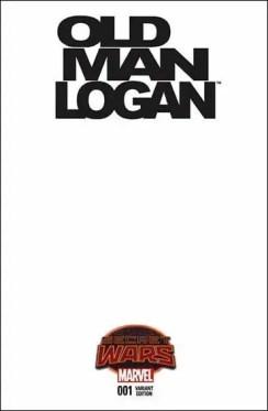Old Man Logan #1 - Blank Variant