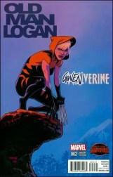 Old Man Logan #2 - Chris Samnee Gwenverine Variant