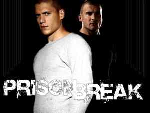 "Michael Scofield (Miller) and Lincoln ""Link"" Burrows (Purcell) from Prison Break"