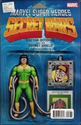 Secret Wars #3 - John Tyler Christopher Action Figure Variant