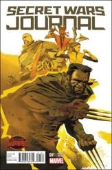 Secret Wars Journal #1 - Eric Nguyen 1 in 25 Variant