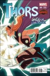 Thors #1 - Kris Anka Gwen of Thunder Variant
