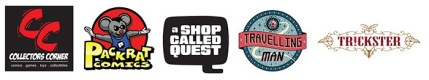 Finalists for the 2015 Eisner Retailer Award