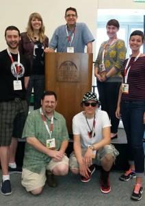 The 2015 judges for the Eisner Retailer Award