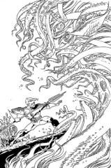 Aquaman # 48 by Andy Kuhn