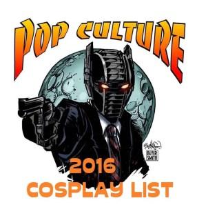 Cosplay List