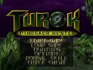 Turok Opening Screen for N64