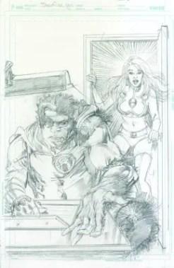 Starfire #9 Neal Adams variant