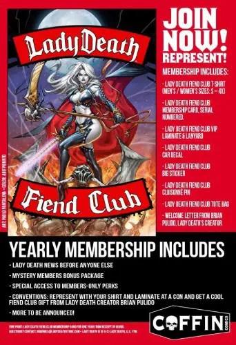 lady death club