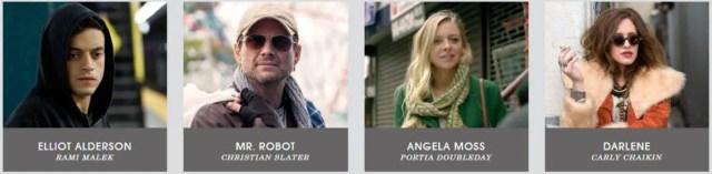 MrRobot Cast