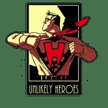 Unlikely Heroes logo