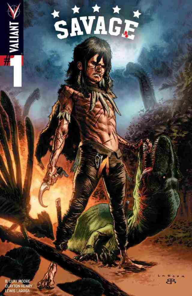 SAVAGE #1 (of 4) – Cover A by Lewis LaRosa