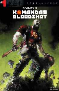 Cover A by Clayton Crain