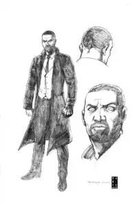 ALEXANDER SOLOMON – Character Design by Darick Robertson