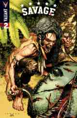 SAVAGE #2 (of 4) – Cover A by Lewis LaRosa