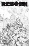 Reborn #3 - 1 in 100 Cover B by Greg Capullo